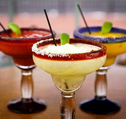 Margaritas – Key Lime Pie, Strawberry, Mango